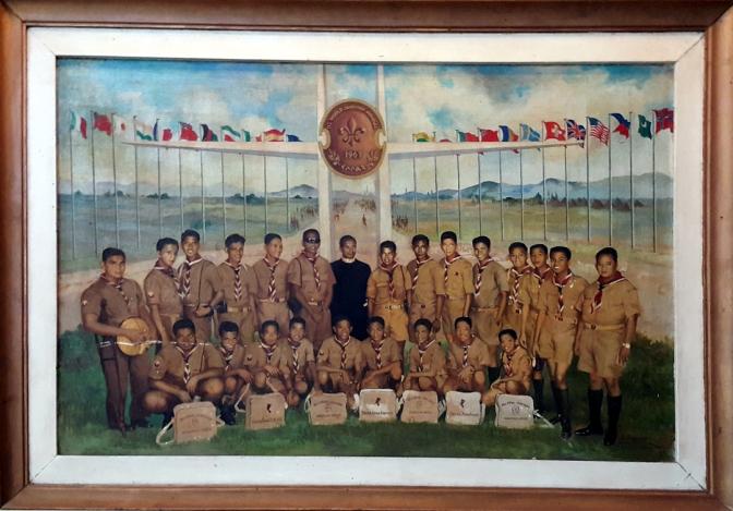 07 1964 Antonio Dumalo - 11th Jamboree Philippine Contingent