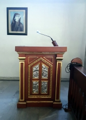 1993 Parish of The Lord of Divine Mercy, Altar Lectern