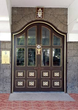 2015-2016 Parish of The Lord of Divine Mercy, Jubilee Door