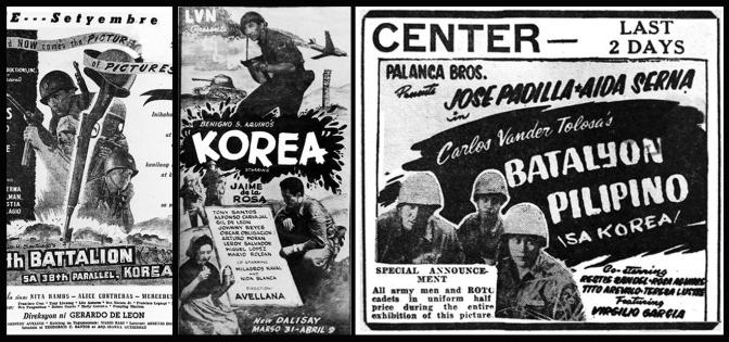 08 1951 10th Battalion sa 38th Parallel, Korea. 1952 Korea, 1954 Batalyon Pilipino sa Korea