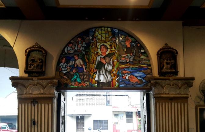 08 1980 Holy Family Parish, Porch & Narthex, San Pedro Calungsod