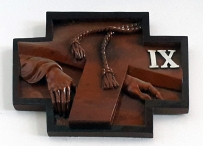 Stations of the Cross IX – Jesus falls for the Third Time