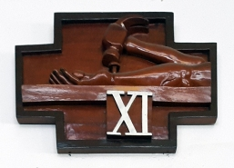Stations of the Cross XI – Jesus is nailed to the Cross