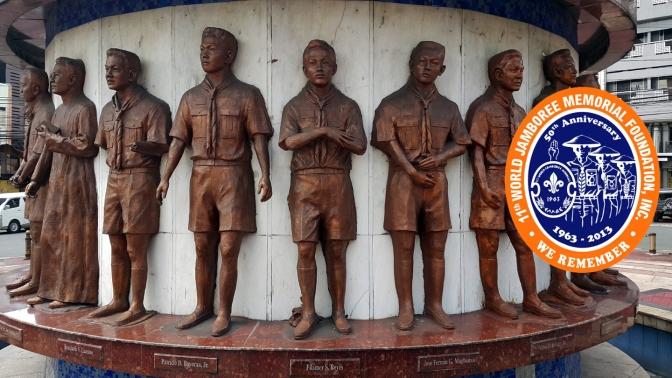09 1965 Florante B. Caedo - 11th World Scout Jamboree Memorial Rotonda (1963)
