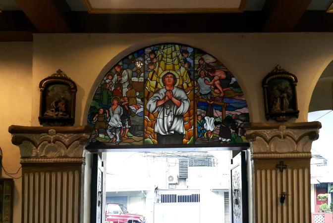 09 1980 Holy Family Parish, Porch & Narthex, San Lorenzo Ruiz
