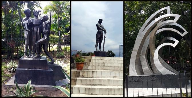 10 2010 Juan Sajid Imao - Filipino-Korean Soldier Monument, 2004 Lapulapu, Sentinel of Freedom, 2010 Soul Waves, Luneta, Manila