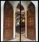 1980 Holy Family Parish, Porch Doors