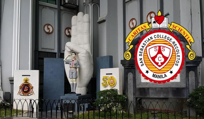 12 Pedro Hermano Gandia Jr. Monument, San Sebastián College-Recoletos de Manila