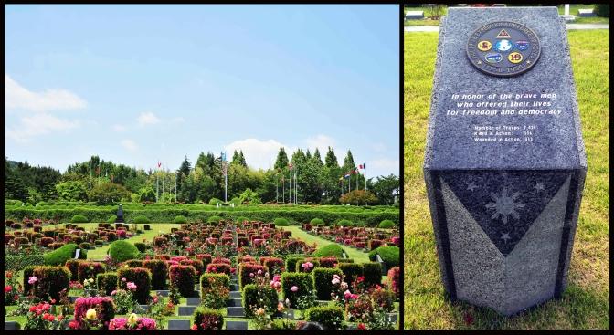 14 1964-1968 PEFTOK Marker, UN Memorial Cemetery, Busan, Korea