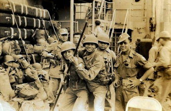 1950 10th BCT onboard the USNA Antolak