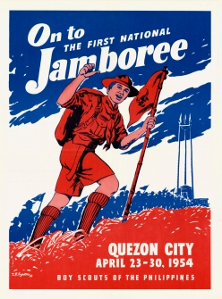 1954 On to the First National Jamboree