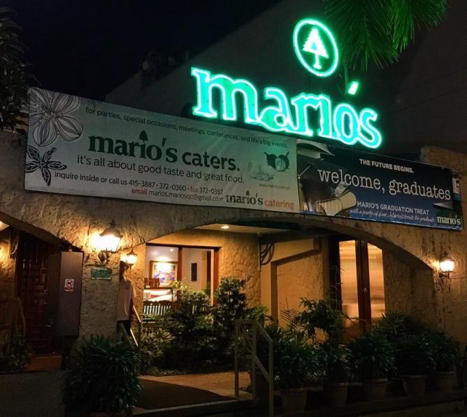 1974 Mario's Restaurant