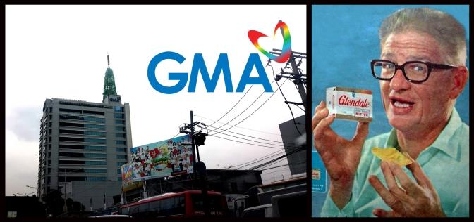 30A 2000 GMA Network Center & Robert La Rue Stewart (1918-2006)