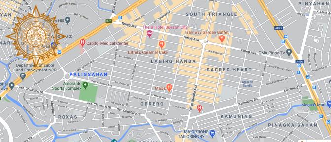 34 Barangay Kamuning, Laging Handa, Raligsahan, Roces and South Triangle