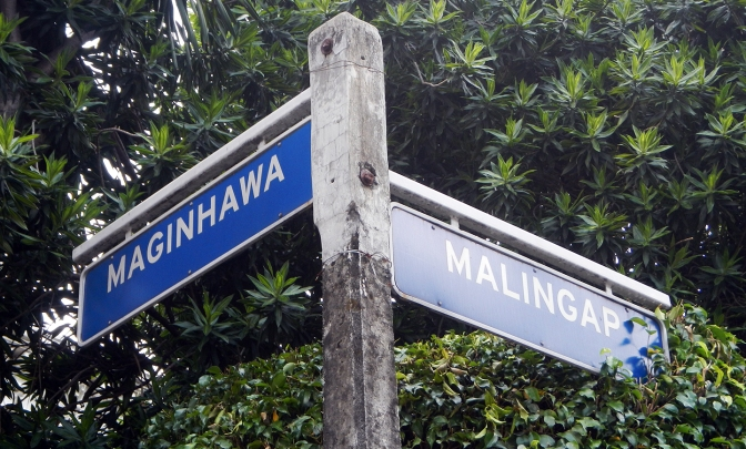 Maginhawa and Malingap Streets