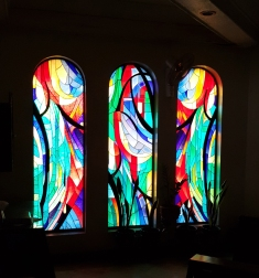 1986 Saint Paul The Apostle Parish Church, Stained Glass