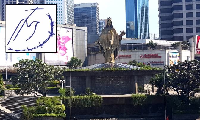 12 1989 Shrine of Mary, Queen of Peace, Our Lady of EDSA