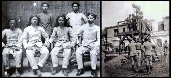 03 1904 Julia Montalan, Francisco Carreon, Macario Sakay, Leon Villafuerte, Benito Natividad, Lucio de Vega
