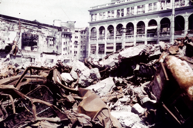 04 1945 Post War Destruction in Manila