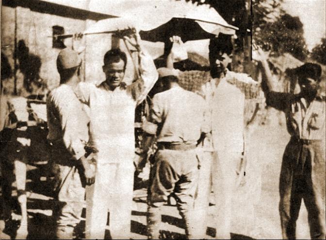 06 1942 Japanese Checkpoint, Manila