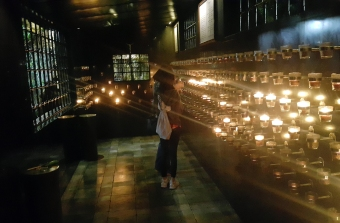 Saint Pio de Pietrelcina Chapel, Interior Votive Candle Room