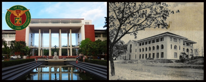 11 1950 Quezon Hall Administrative Building & Benitez Hall College of Education, University of the Philippines, Diliman