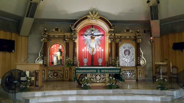 1959 Saint Joseph the Worker Parish, Altar & Dome