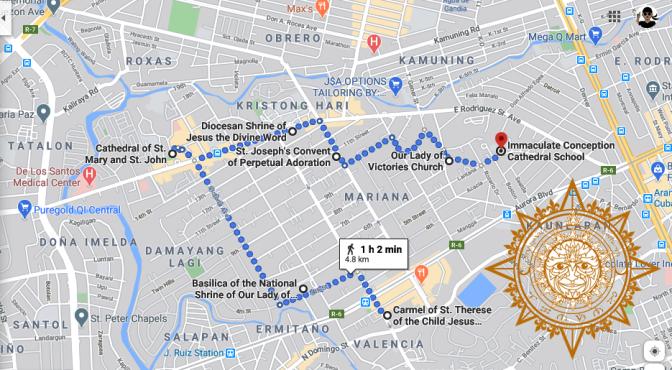 11 Visita Iglesia New Manila