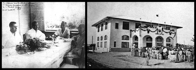 12 1939 Breakfast meeting of Pres. Manuel L. Quezon, in the home of Tomas B. Morató, the first residence constructed in Diliman