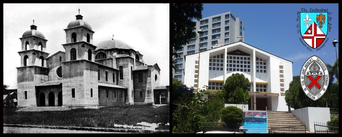 13 1907 Cathedral of St Mary and St John in Ermita, Manila & 1962 National Cathedral of St Mary and St John, New Manila, Quezon City