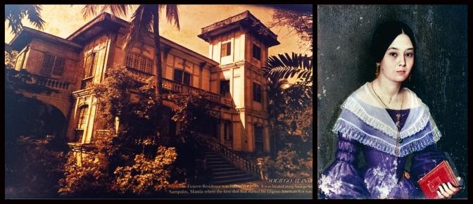 14 1930 Tuason Home in Sapaloc & Doña Cirila Magdalena Tuason y Santibáñez de Legarda