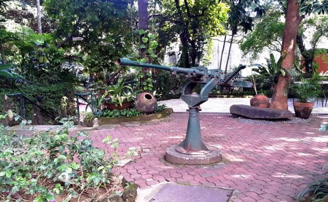 14 1944 Japanese Anti-Aircraft Gun, Sampaguita Gardens