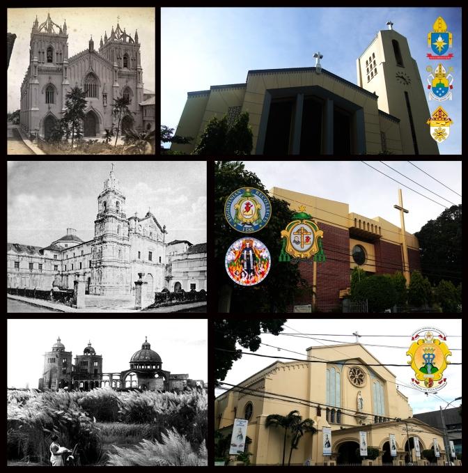 14 Santo Domingo Church, San Nicolas de Tolentino Church & National Shrine of Our Lady of Lourdes