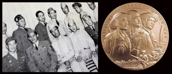 16 1952 Reunion of Filipino World War II Veterans in Washington, USA & 2017 US Congressional Gold Medal for Filipino World War II Veterans