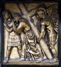 Stations of the Cross II Jesus carries his Cross