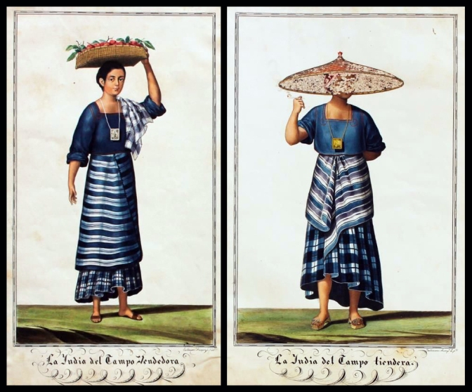 19 1841 Justiniano Asunción y Molo (1816-1896) - Tipos del Pais, Tagalog Maynila