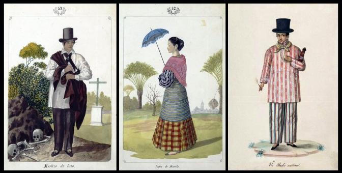 19 1847 José Honorato Lozano (1815-1885) - Tipos del Pais, Tagalog Maynila