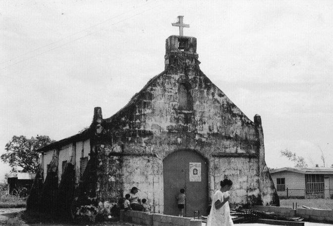 1900s The Krus na Ligas Chapel, as of 1964