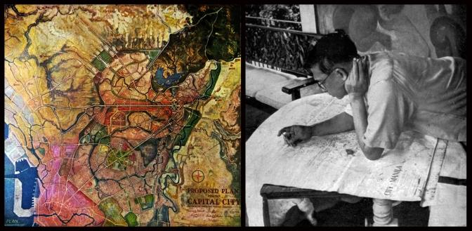 20 1941 Master Plan of Quezon City & Arch Juan Marcos de Guzmán Arellano (1888-1960)
