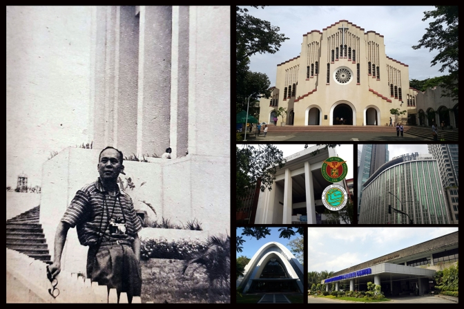 25 Noted works of Arch Cesar Homero Rosales Concio Sr. (1907-2003)