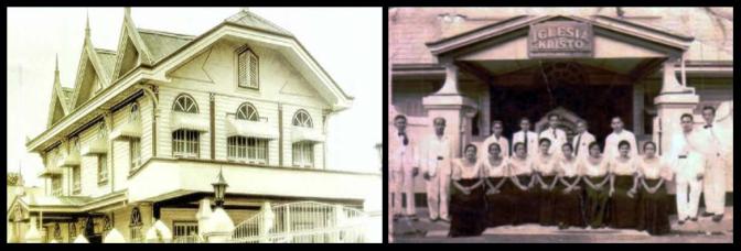 33 1937 Iglesia Chapel in Manila & 1925 Iglesia ni Cristo Central Offices and Temple