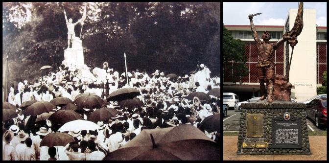 35 1911 Monumento sa mga Bayani ng 1896 by Ramon Lazaro Martinez (1869-1950)