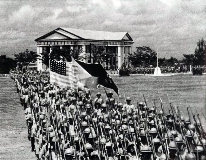 36 1935 Inauguration of the Commonwealth of the Philippines
