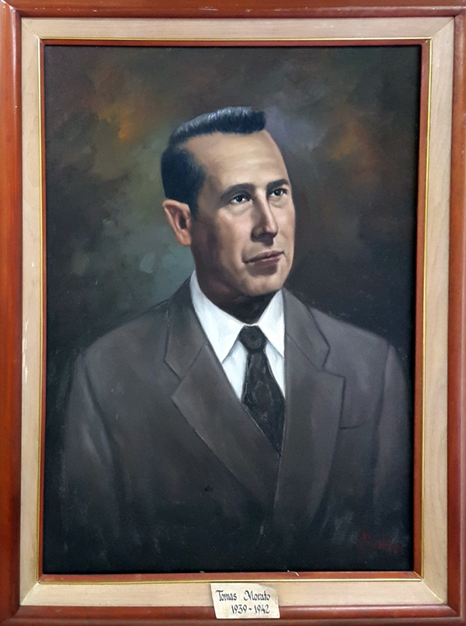 02 1939-1942 Tomas B. Morato by Luisito Villanueva (painted 2000)