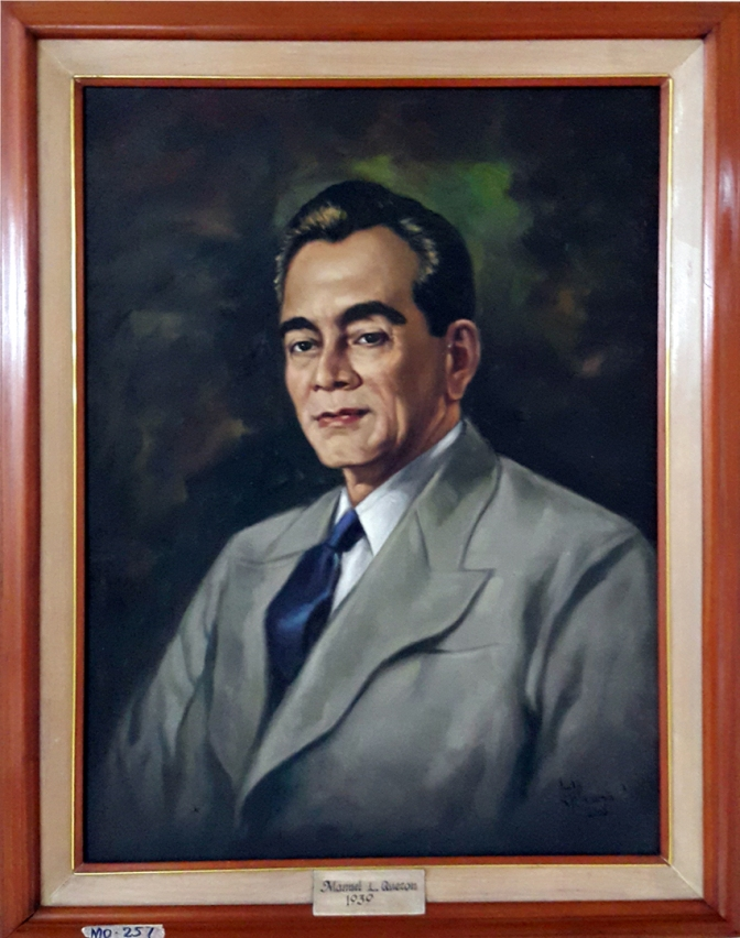 02 1939 Manuel L. Quezon by Luisito Villanueva (painted 2000)