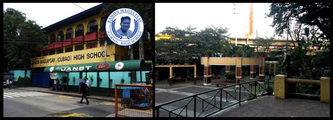 02 1953 Ramon Magsaysay High School & 1947-49 Ponciano Bernardo Park by Luciano Aquino