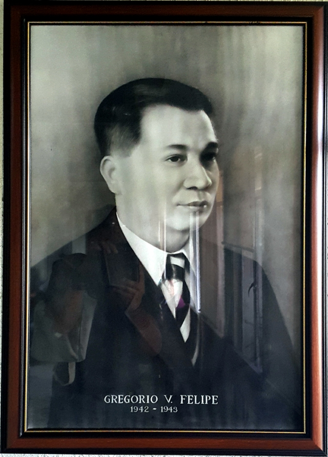 03 1942-1943 Gregorio V. Felipe, Artist Unknown