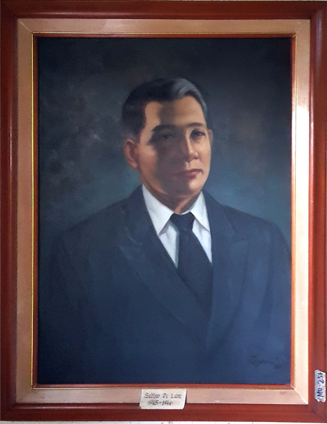 04 1945-1946 Sabino De Leon by Luisito Villanueva (painted 2000)