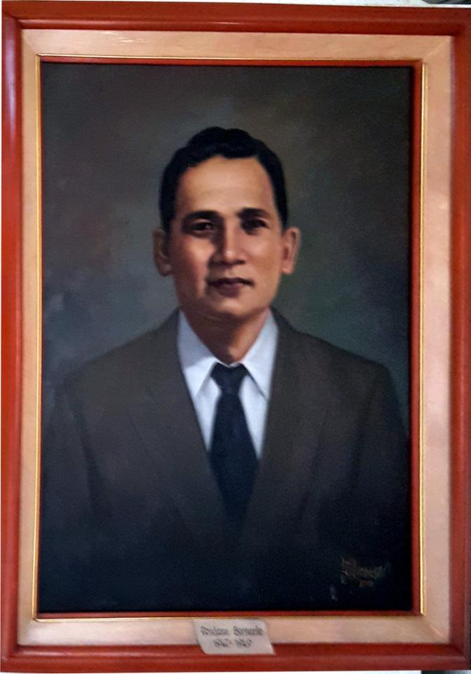 05 1946-1949 Ponciano A. Bernardo by Luisito Villanueva (painted 2000)