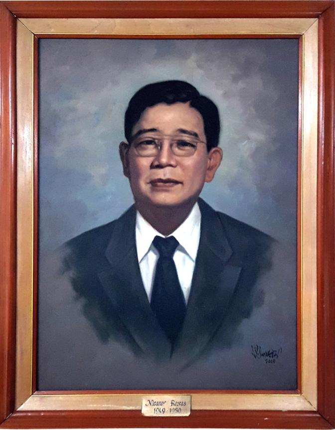 06 1949-1950 Nicanor A. Roxas by Luisito Villanueva (painted 2000)